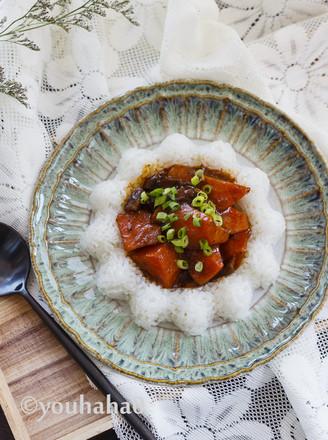 香菇胡萝卜盖浇饭的做法