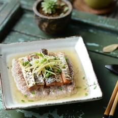 咸鱼蒸肉的做法