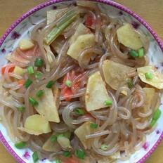 土豆炒粉条