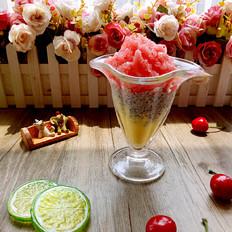多彩水果沙冰