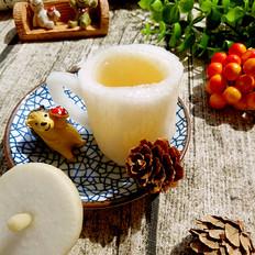 蜂蜜白萝卜杯