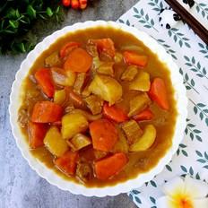 咖喱土豆胡萝卜牛肉