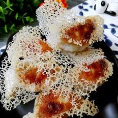 冰花煎饺(香菇猪肉馅)