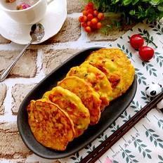 蛋香白薯饼