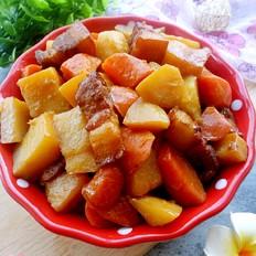 土豆胡萝卜五花肉