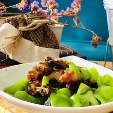 尖椒炒腊鱼的做法
