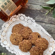 红糖燕麦饼干的做法