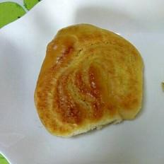 汤种心形椰蓉面包
