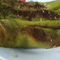 油焖尖椒(虎皮尖椒)
