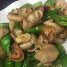 青椒炒猪大肠