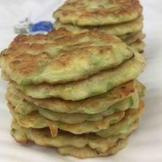 西葫芦小麦粉饼