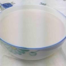 米饭花生米糊