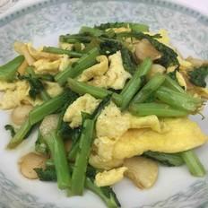 萝卜英炒鸡蛋