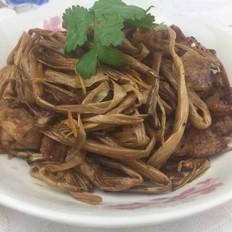 猪肉炒黄花菜