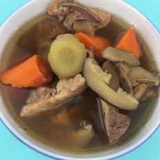 猪脊骨香菇汤