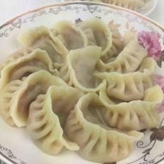 彩椒猪肉馅饺子