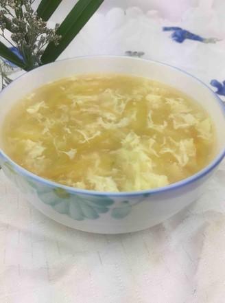 西瓜皮鸡蛋汤的做法
