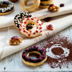 甜甜圈饼干的做法