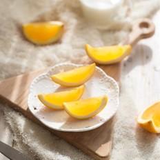 橙子果冻#下午茶#的做法