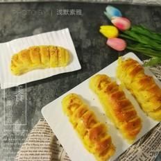 南瓜馅儿面包