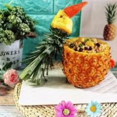鸟语花香之菠萝饭