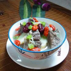 鲜玉竹猪肺汤