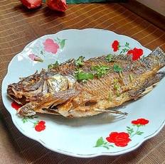 香煎罗非鱼