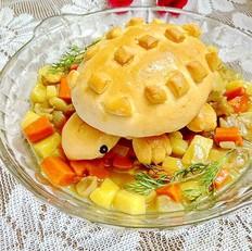 咖喱乌龟面包