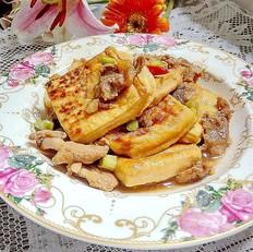 里脊肉焖茂名豆腐