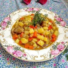 咖喱鸡肉土豆