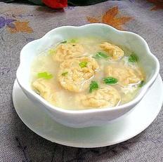 马蹄鱼腐蛋花汤