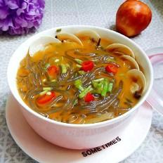 蛤蜊咖喱红薯粉