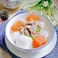 排骨胡萝卜淮山汤