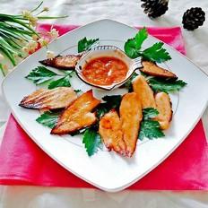 香烤鲽鱼片