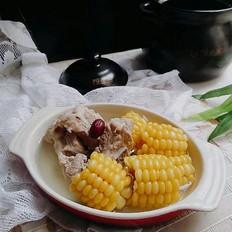 扇骨玉米汤