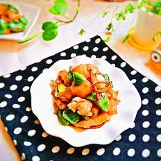猪肉筋炒菜椒