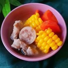 猪尾骨玉米胡萝卜汤