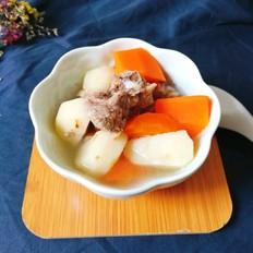 排骨胡萝卜马蹄汤