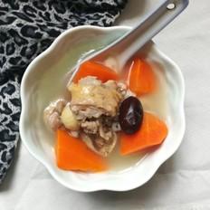 胡萝卜老鸭汤