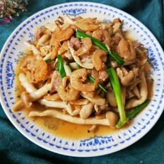 金钩虾蟹味菇