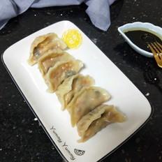菌菇蔬菜饺