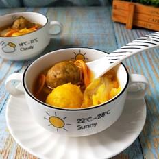 双丸菌菇汤