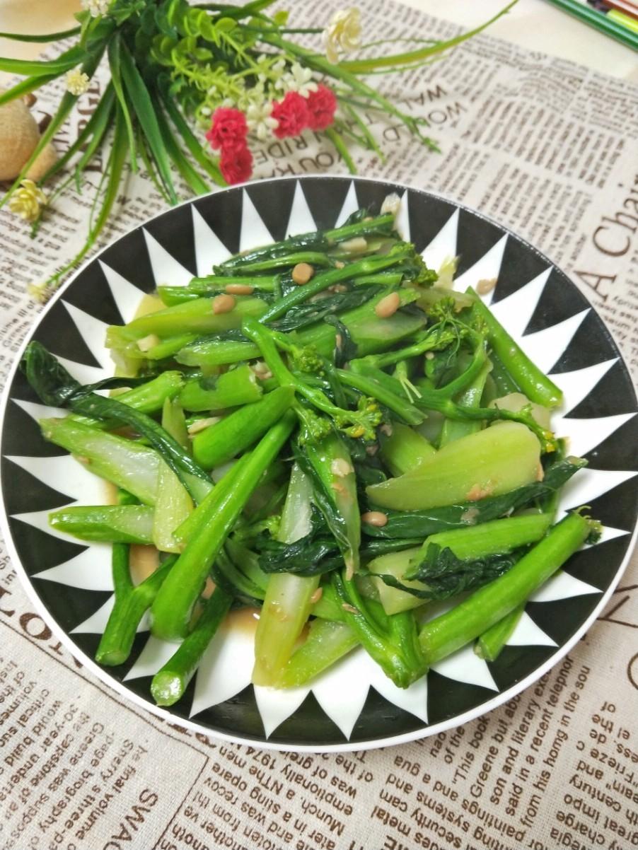 豆豉炒菜心
