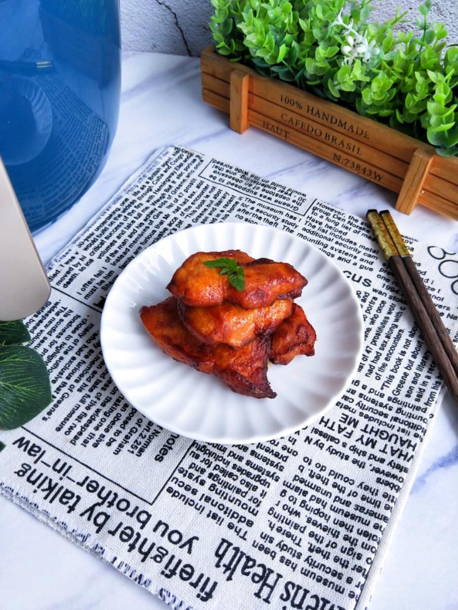 空气炸锅做的鸡扒,无油低脂可香了的做法