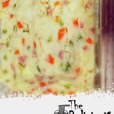 芝香鸡蛋土豆泥