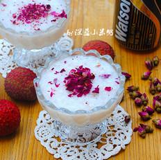 玫瑰荔枝苏打汽水
