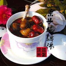 栗子炖鸡汤的做法