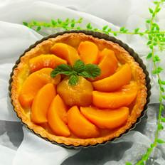 甜蜜黄桃派
