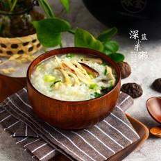 香菇鸡汤粥