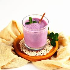 紫薯山药奶昔